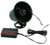 ALL RIDE 12V Six Tone Siren (JGL-913)
