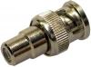 F393/RM97M BNC Plug Male-Phono Socket